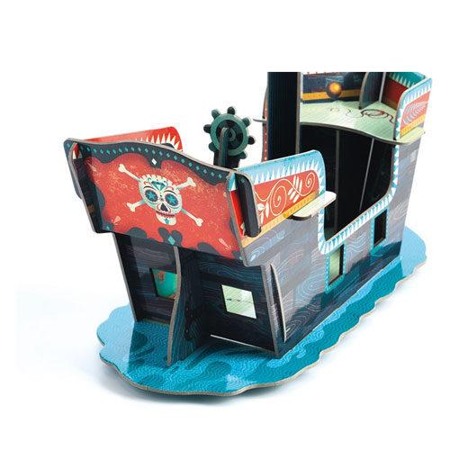 ספינת פיראטים - תלת מימד
